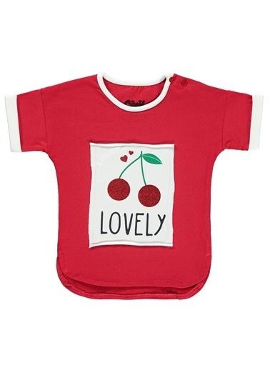 Civil Baby Civil Baby Kız Bebek Tişört 6-18 Ay  Kırmızı Civil Baby Kız Bebek Tişört 6-18 Ay  Kırmızı Kırmızı